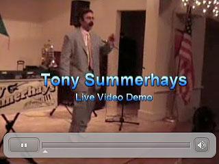 Tony Summerhays Video Demo 2